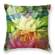 Lily Birth Throw Pillow