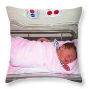 Lily Michele Middleton Throw Pillow