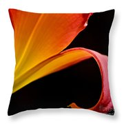 Lily Of The Field Throw Pillow