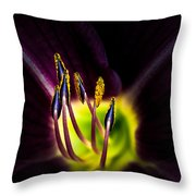 Lily Of The Forest Throw Pillow