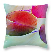 Lily Pad 1 Throw Pillow