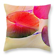 Lily Pad 2 Throw Pillow