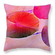 Lily Pad 3 Throw Pillow
