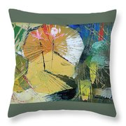 lily Pond 2 Throw Pillow