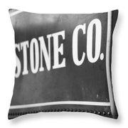 Lima Stone Co Throw Pillow