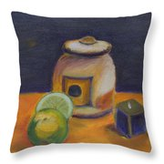 Limes Throw Pillow