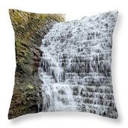 Limestone Falls 2 Throw Pillow