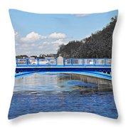 Limited Edition Dublin Bridge Throw Pillow
