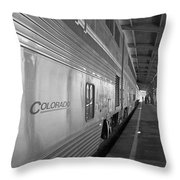 Limited Layover Throw Pillow