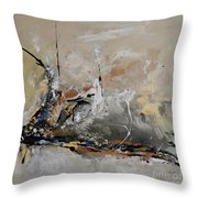 Limitless - Abstract Painting Throw Pillow by Ismeta Gruenwald
