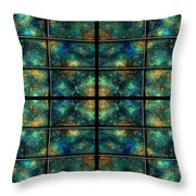 Limitless Night Sky Throw Pillow