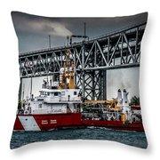 Limnos Coast Guard Canada Throw Pillow