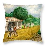 Limon Costa Rica Throw Pillow