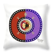 Limon Self Portrait Throw Pillow