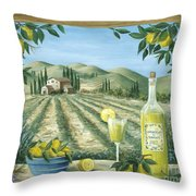 Limoncello Throw Pillow