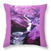 Limpy Creek Throw Pillow
