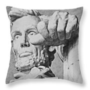 Lincoln - 3463charcoal 2 Hp Throw Pillow