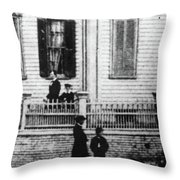 Lincoln And Sons, 1860 Throw Pillow
