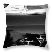 Lincoln Capri Emblem Throw Pillow by Jill Reger