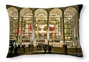 Lincoln Center At Night Throw Pillow