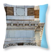 Lincoln County Courthouse Corner Throw Pillow