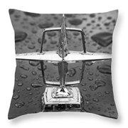Lincoln Hood Ornament Throw Pillow