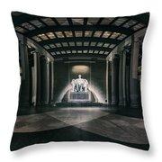 Lincoln Memorial Throw Pillow by Eduard Moldoveanu