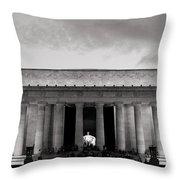 Lincoln Memorial  Throw Pillow