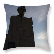 Lincoln Memorial Wyoming Throw Pillow