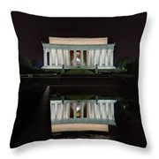 Lincoln Reflection Throw Pillow