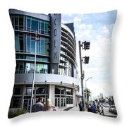 Lincoln Road Throw Pillow