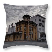 Lincoln Train Station Throw Pillow