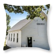 Lincoln Twp. No. 5 Throw Pillow