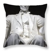 Lincoln1 Throw Pillow