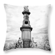 Lincolns Gettysburg Address Site  Throw Pillow
