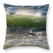 Linda Mar Beach - Northern California Throw Pillow