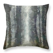 Linden Alley Throw Pillow