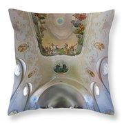 Lindenberg Organ And Ceiling Throw Pillow