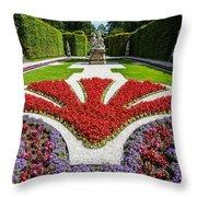 Linderhof Palace Gardens - Bavaria - Germany Throw Pillow