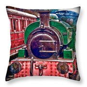 Line And Ink Loco Throw Pillow