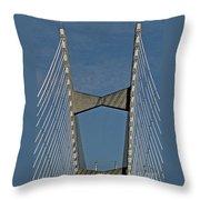Line Design Throw Pillow