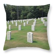 Line Of Heros Throw Pillow