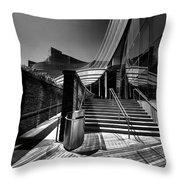 Line Rhymes Throw Pillow