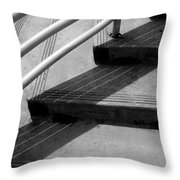 Linear In Four Four Time Throw Pillow