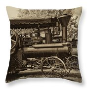 Lined Up To Work Throw Pillow