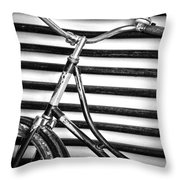 Lines Which Carry  Throw Pillow