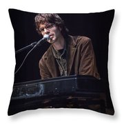 Linford Detweiler Of Over The Rhine Throw Pillow