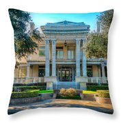 Link Lee Mansion Throw Pillow