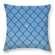 Link To The Moon Throw Pillow