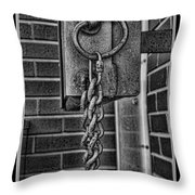 Linked II Throw Pillow